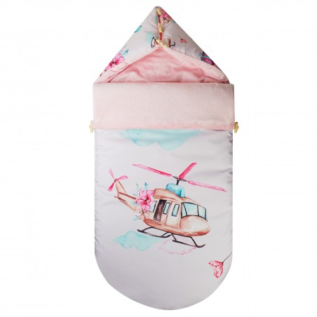 Stroller Sleeping Bag Clouds for Girls HELICOPTER