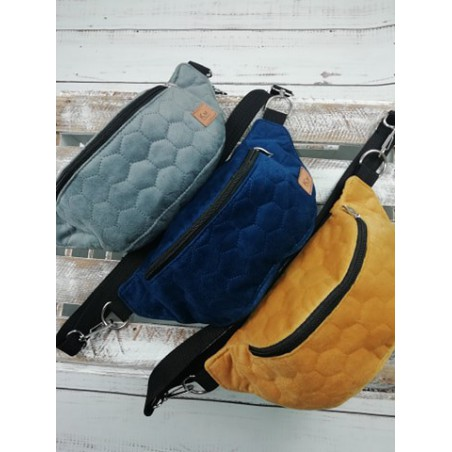 Komplet do wózka bawełniany, kocyk 75x50 cm i poduszka 30x25 w króliczki na beżowym dla dziewczynki