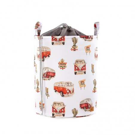 Toy Bin with STRAIGHTENER Cars /small pattern/