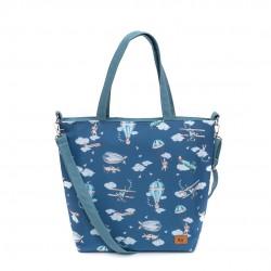 "Bag on garnet ""Travel time""..."