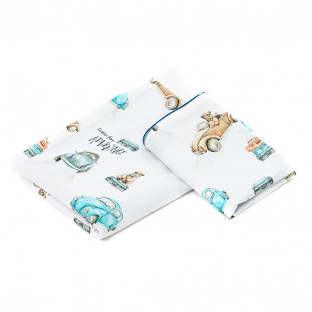 """Children bedding (pillowcases) """"Time for adventure"""" 120x90 or 135x100"""