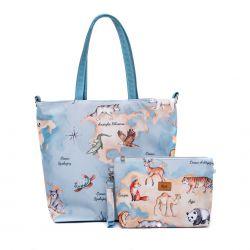 Bag and cosmetic bag set...