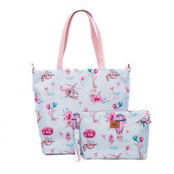"Cosmetic bag set ""Clouds..."