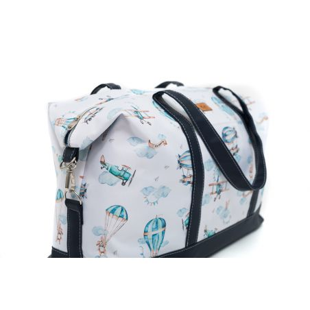 """Birthing/travel bag """"Travel time"""" with pomegranate"""