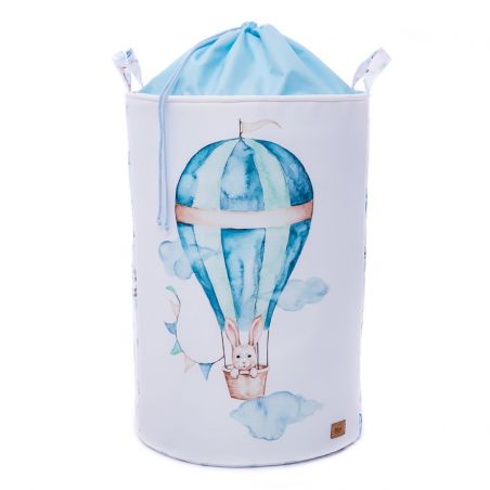 copy of Basket for toys with welt BALLOON TRAVEL TIME