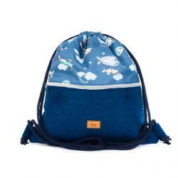 "Sack-backpack ""Travel time..."