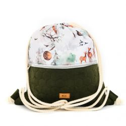 "Sack-backpack ""Wild dreams..."