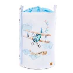 Toy basket with welt Travel...
